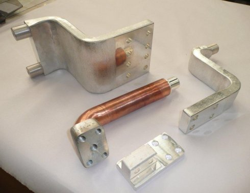 High conductivity copper castings